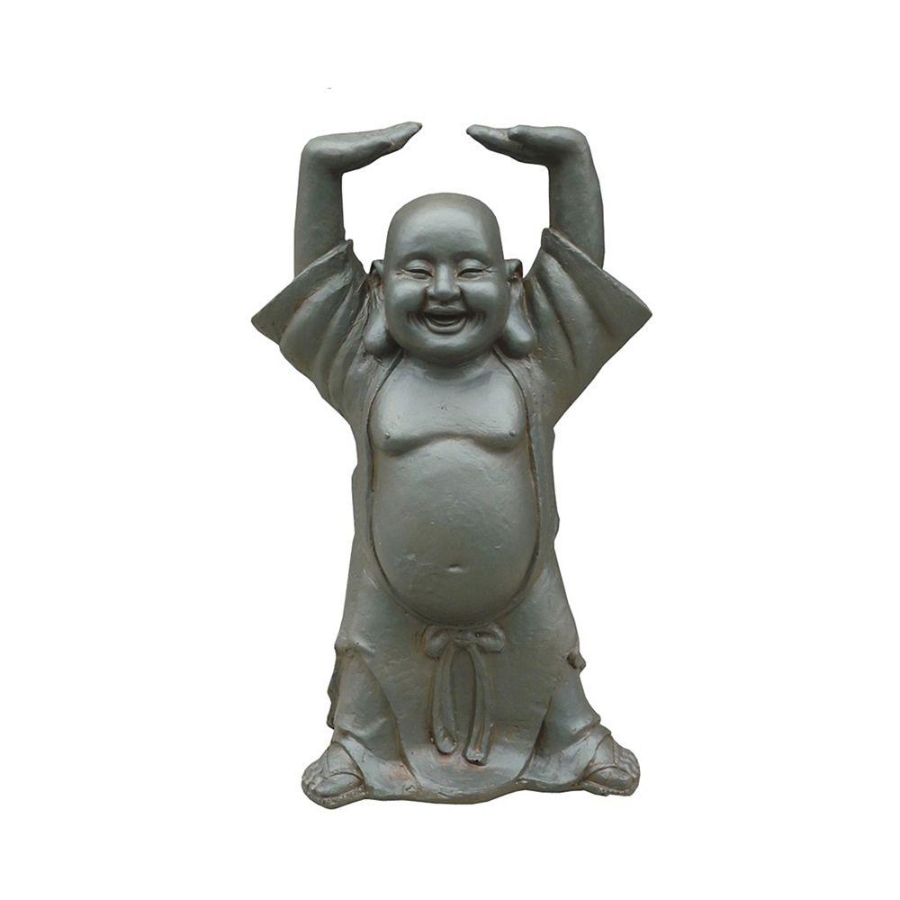Hi-Line Gift Statue de Bouddha les mains en haut  17 inch haut