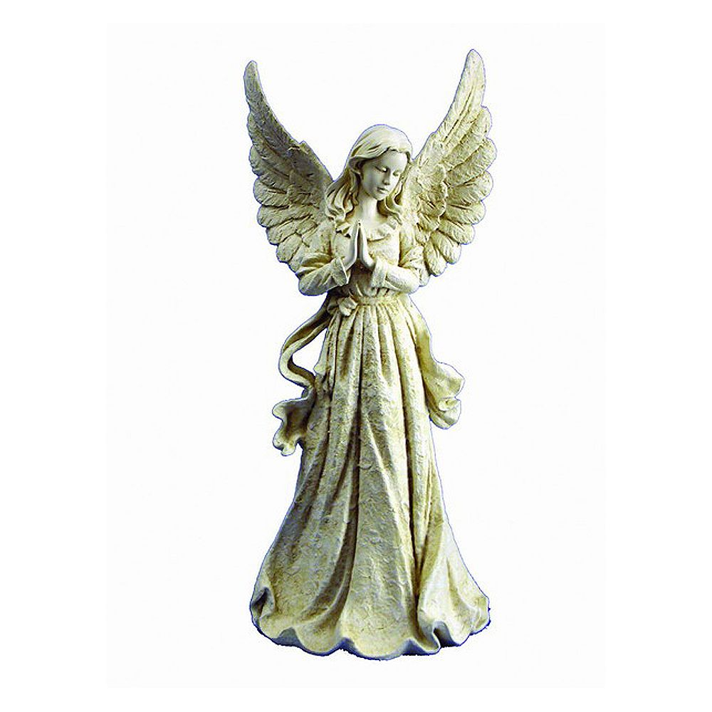 Hi-Line Gift Angel Standing with Wings Up Statue