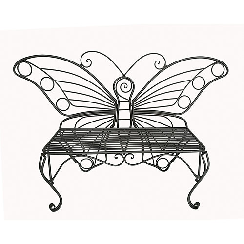 Butterfly Garden Chair, Black Color