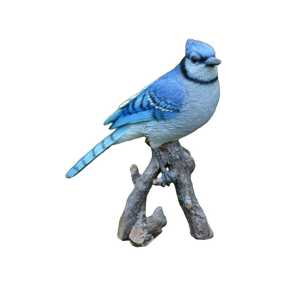 Hi-Line Gift Statue Geai bleu' sur une branche