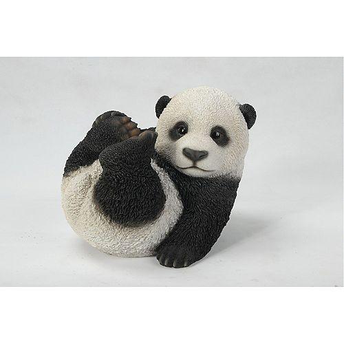 Hi-Line Gift Baby Panda Playing Statue