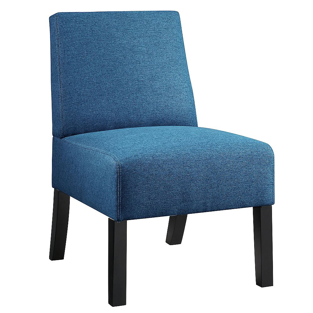 WHI Tino Compact Accent Chair, Blue