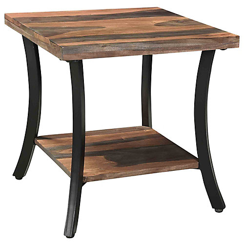 Surin table d'appoint, natural/gris
