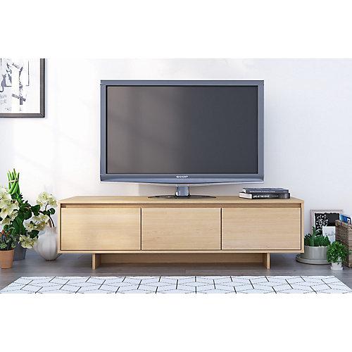 Meuble audio-vidéo Rustik, Érable naturel