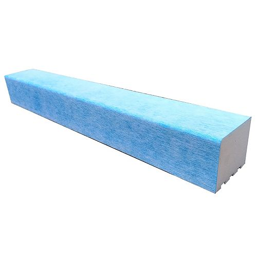 AlinO Shower Curb 3.5-inchx 4-inch x 32-inch bonded with waterproof membrane