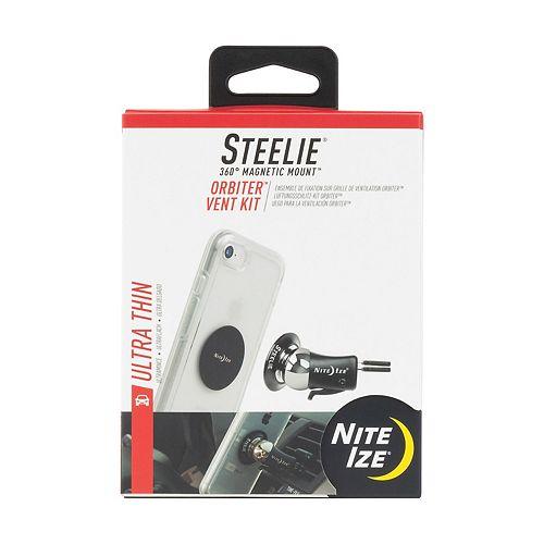 Nite Ize Steelie Orbiter Vent Mount Kit - Portable Magnetic Cell Phone Holder for Car Vent