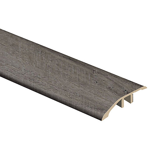 Quincy Oak 5/16-inch Thick x 1 3/4-inch Wide x 72-inch Length Vinyl Reducer Molding