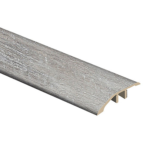 Moulure de réduction en vinyle, 5/16 po d'épaisseur x 1 3/4 po de largeur x 72 po de longueur, Chêne blanchi canadien