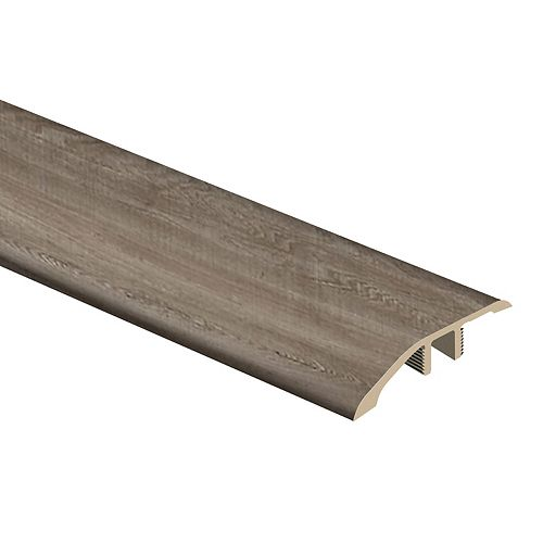 Valley Wood 1/3-inch Thick x 1-13/16-inch Wide x 72-inch Length Vinyl Reducer Molding