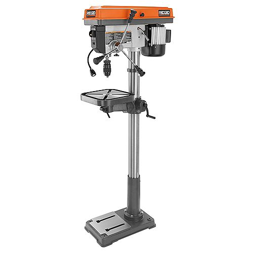 15-Inch Drill Press with LED