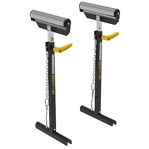 ScaffoldBench, Kit of 2, Material Support Roller for Workbench