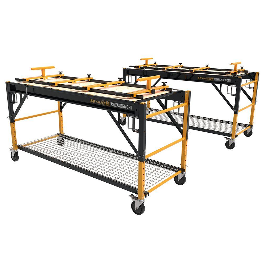 Metaltech ScaffoldBench, kit de 2,  établi principal