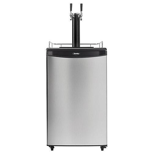 Kegerator 5.4 cu. ft. Dual Tap Keg Cooler