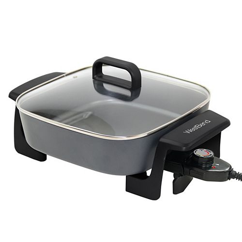 Extra-Deep Square Electric Skillet