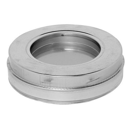 SuperVent 6 inch Insulated Tee Plug