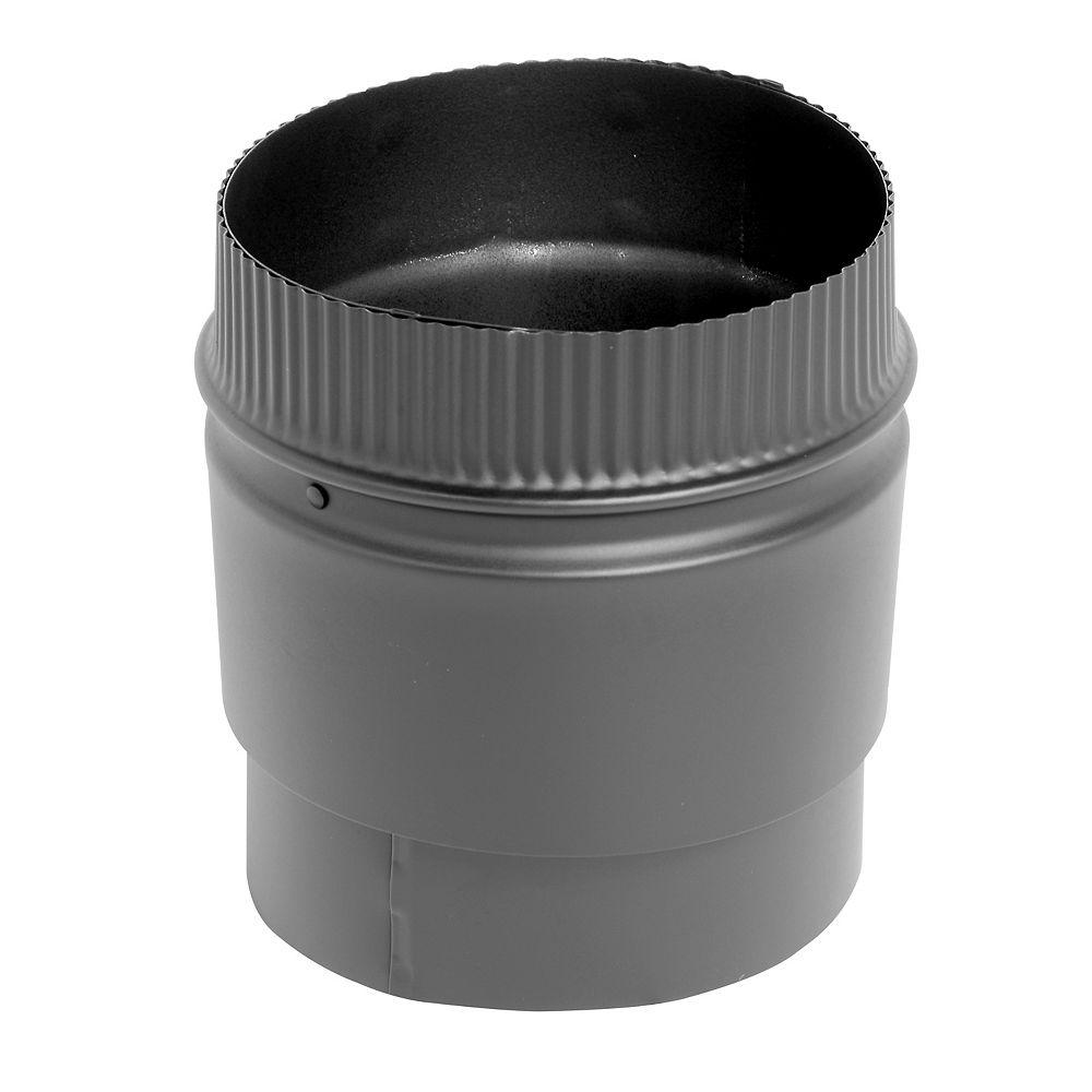 SuperVent 6 inch Dia Flush Stove Adaptor