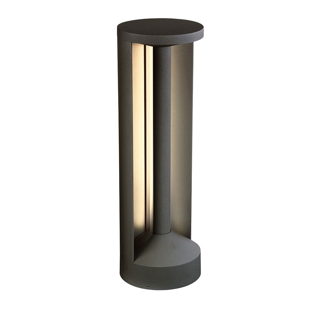 Eurofase Outdoor Bollard LED, Graphite Grey,12W