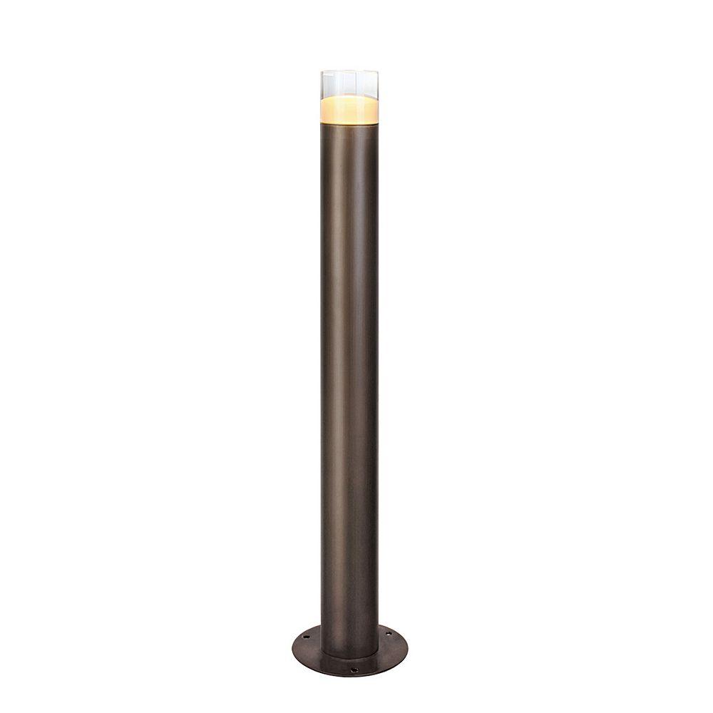 Eurofase Luminaire Bollard à DEL pour l'extérieur, bronze antique, 3x2 watts