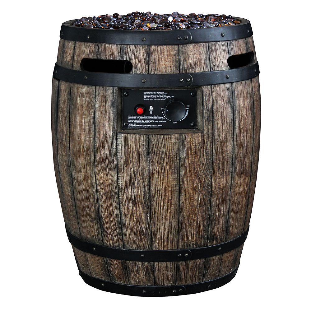 HomComfort Gas Whiskey Baril