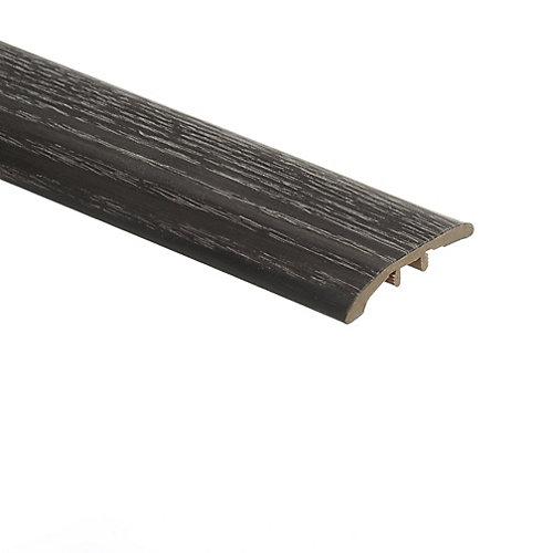 Moulure de réduction en vinyle, 5/16 po d'épaisseur x 1 3/4 po de largeur x 72 po de longueur, Chêne Brooks Range