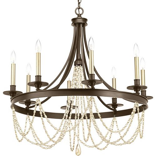 Progress Lighting Allaire Eight-light Chandelier