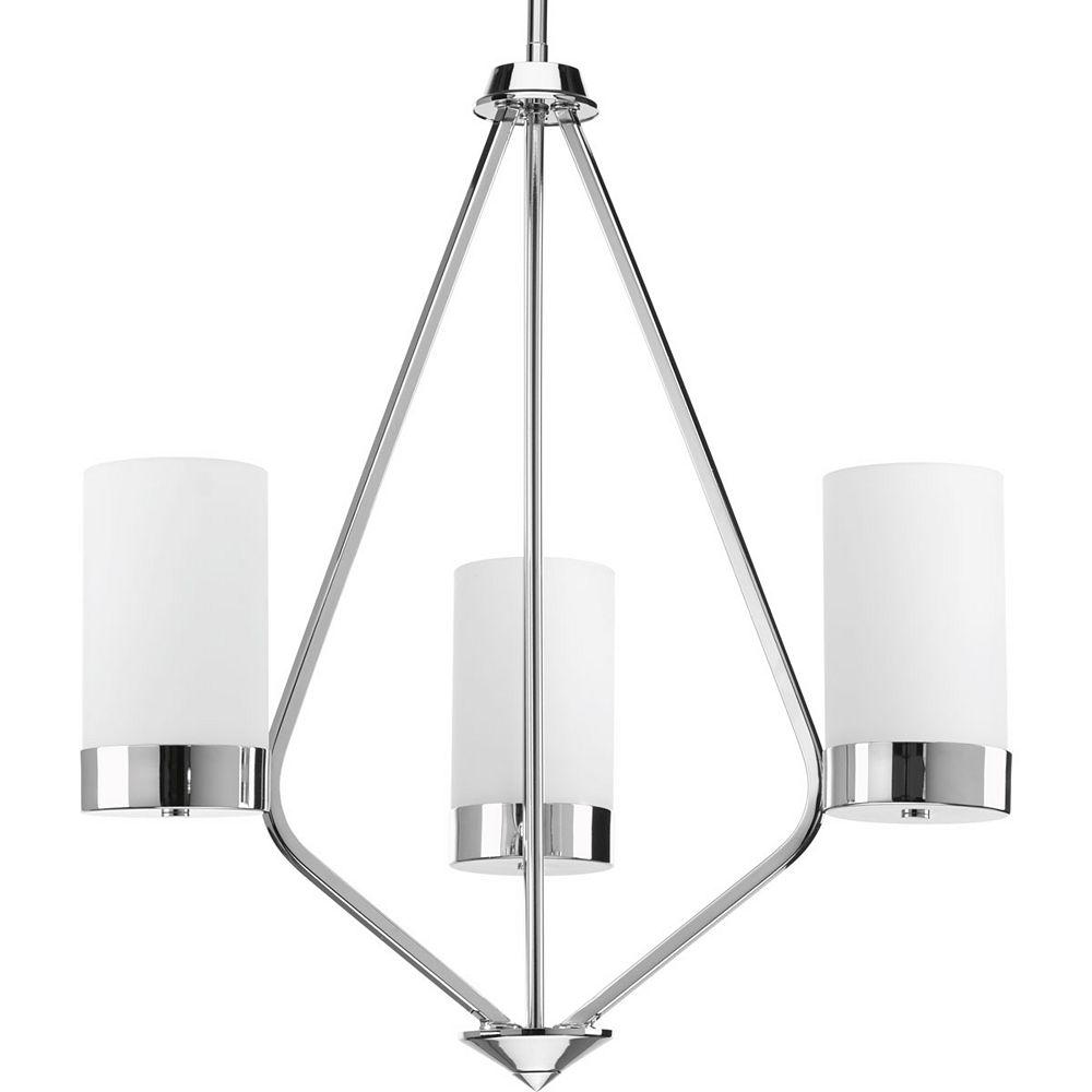 Progress Lighting Lustre Elevate à trois lumières