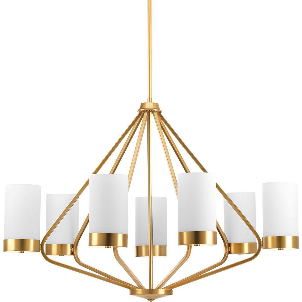 Progress Lighting Elevate Seven-light Chandelier