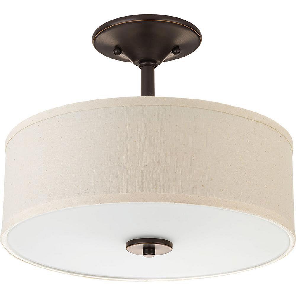 Progress Lighting Inspire Two-light Semi-Flush