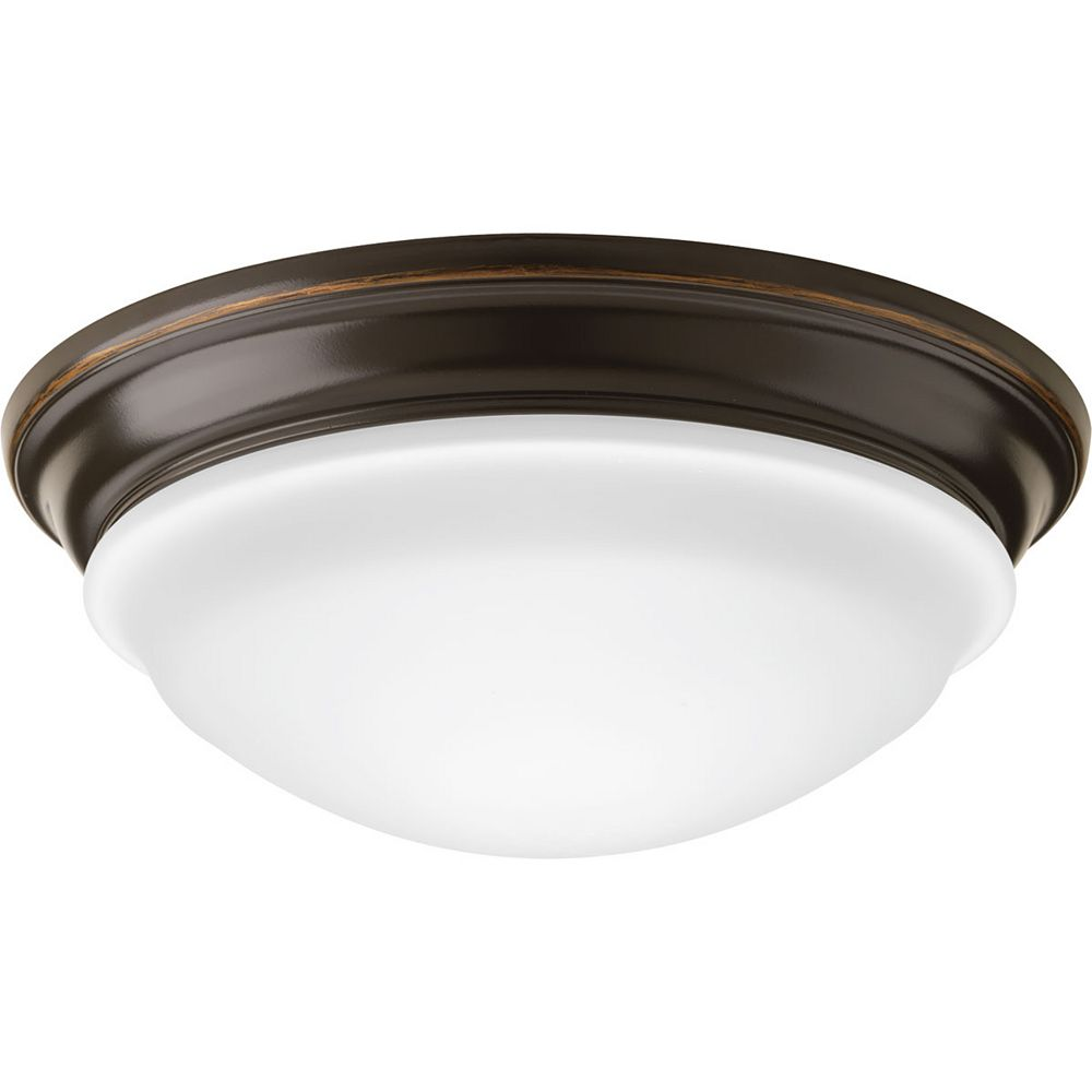 Progress Lighting Encastré LED Flush Mount à une lumière à DEL