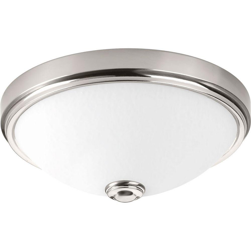 Progress Lighting LED Linen One-light DC LED Flush Mount