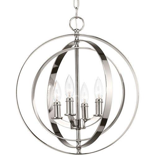Sphère suspendue Equinox à quatre lumières