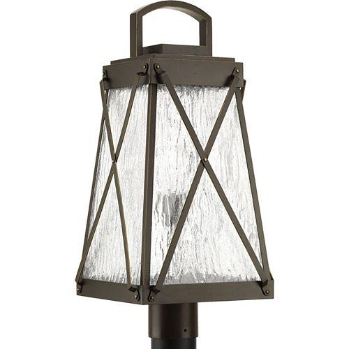 Lanterne sur poteau Creighton à une lumière