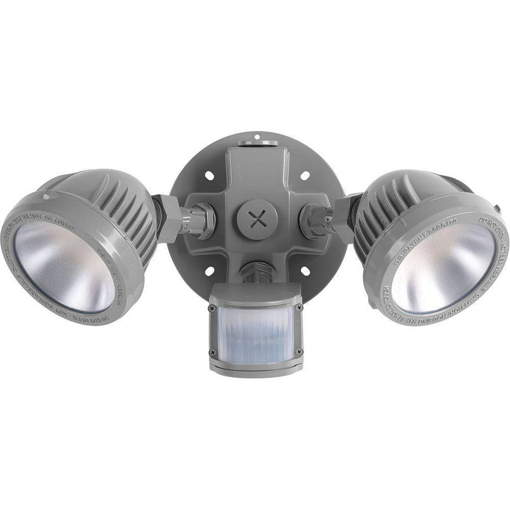 Progress Lighting Floodlights Flood light with motion sensor, 1000 lumens