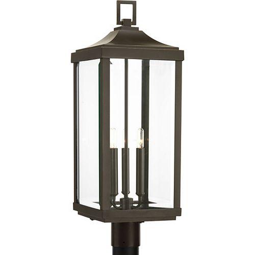 Lanterne sur poteau Gibbes Street à trois lumières