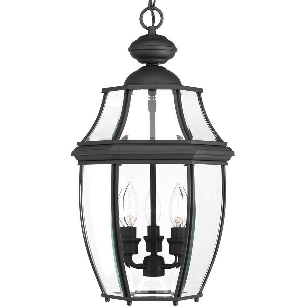 Progress Lighting New Haven Three-light Hanging Lantern