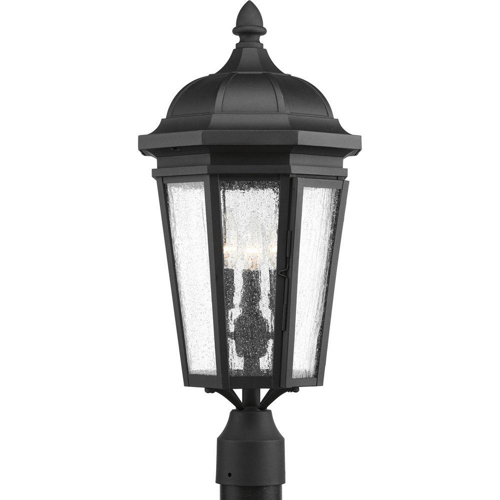 Progress Lighting Lanterne sur poteau Verdae à trois lumières
