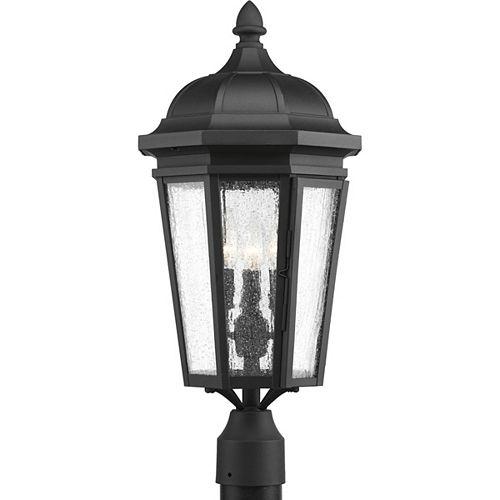 Lanterne sur poteau Verdae à trois lumières