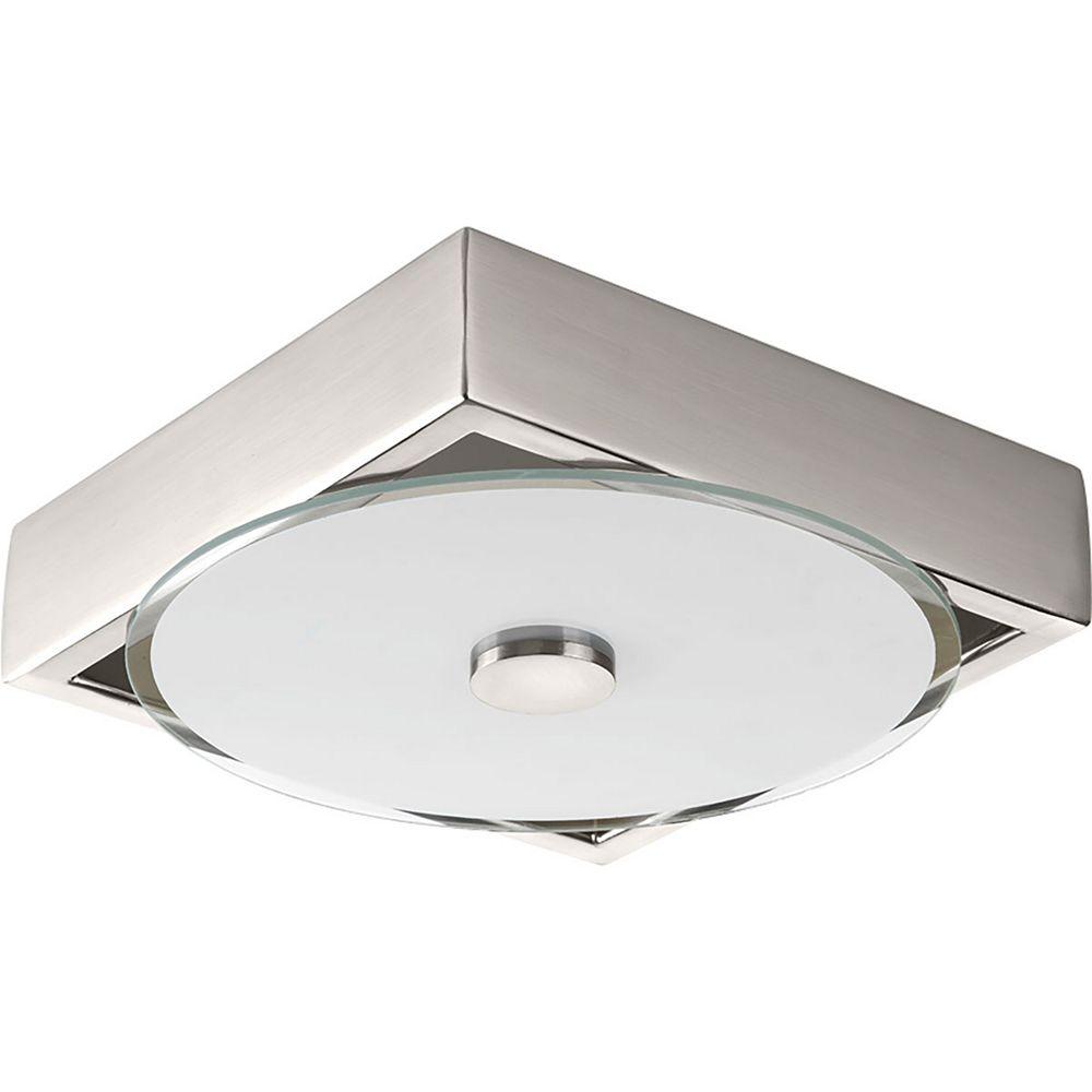 Progress Lighting Frame One-light LED Small Flush Mount Sconce 8 inch