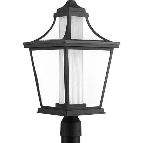 Lampe sur poteau extérieure, collection Endorse - noir