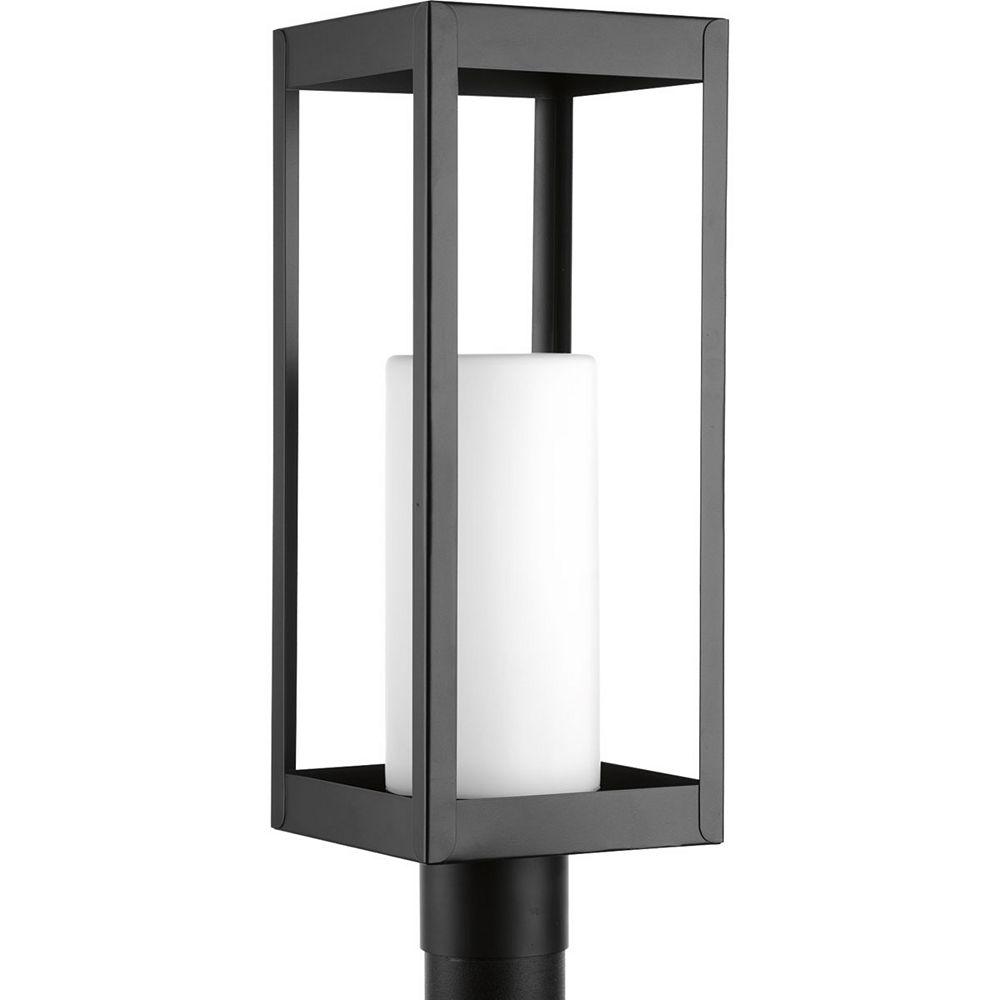 Progress Lighting Patewood Collection Outdoor Black Post Light