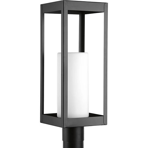 Lampe sur poteau extérieure, collection Patewood - noir