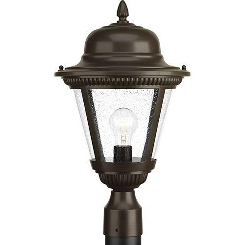 Lampe sur poteau extérieure, collection Westport - bronze antique