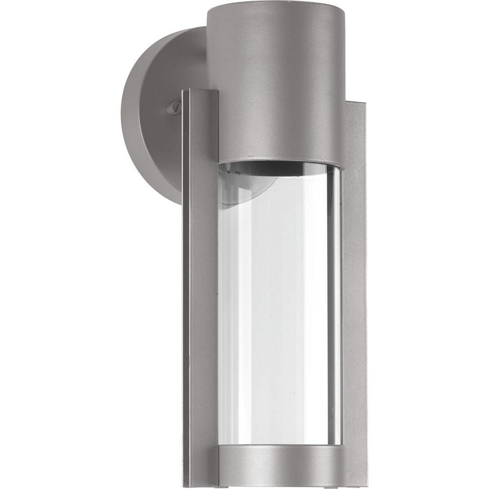 Progress Lighting Z-1030 Collection 1-Light Metallic Gray Wall Lantern
