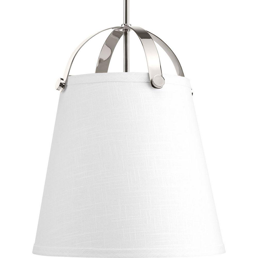 Progress Lighting Luminaire suspendu à 2 lumières, collection Galley - fini nickel poli