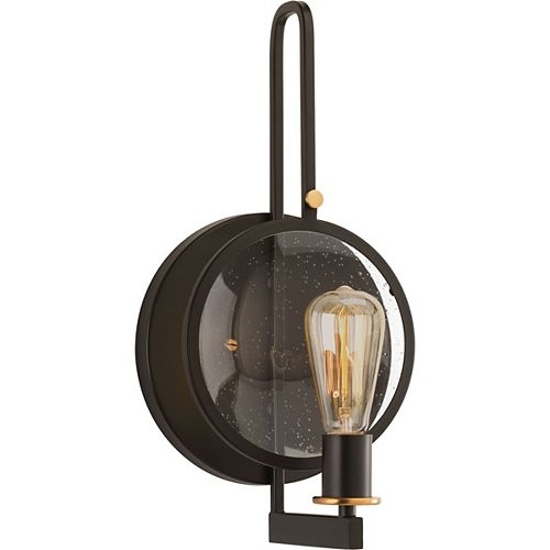 Applique à 1 lumière, collection Looking Glass - fini bronze antique