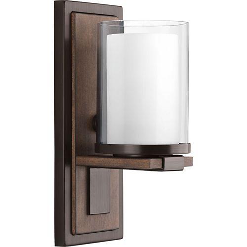 Applique à 1 lumière, collection Mast - fini bronze antique
