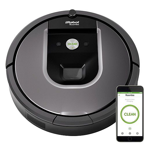 Roomba 960 Wi-Fi Connected Robot Vacuum