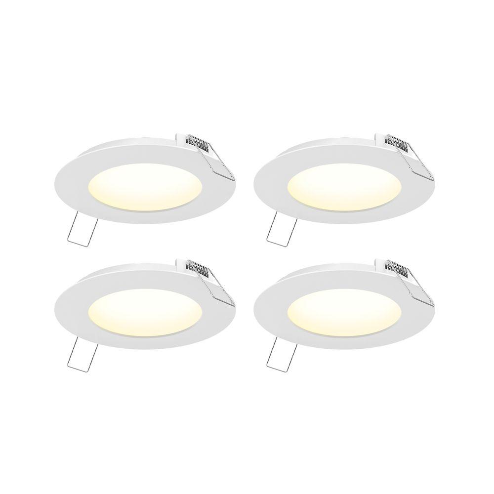 Bright Round DEL Ceiling Down Light panneau salle de bain Cuisine mur lampe blanc froid
