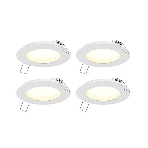 4 Pack of 4 inch LED Panel Light Kit