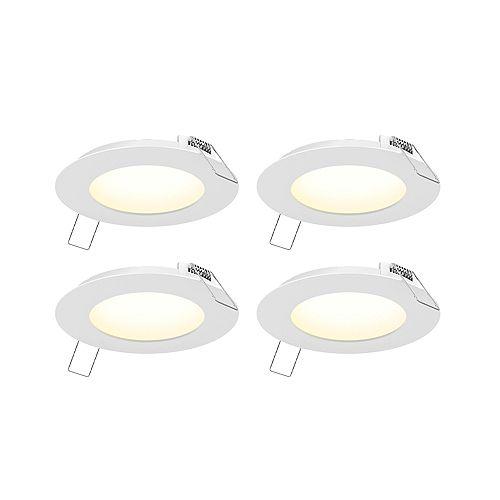 4 Pack of 4 inch LED Panel Light Kit